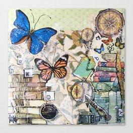 EDUCATE - madewithunicorndust by Natasha Dahdaleh Canvas Print