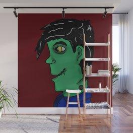 Young Franken Monster Wall Mural