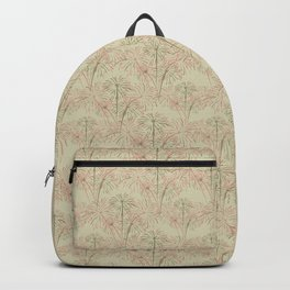 Fireworks Bloom on Cream Backpack