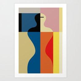 SCHLEMMER TRIBUTE Art Print