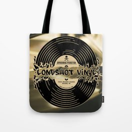 Spinning Forever (Sepia) Tote Bag