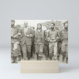 Che Guevara, Fidel Castro and Revolutionaries Mini Art Print
