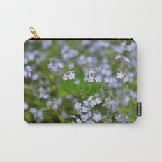 Forget-me-not Close up Carry-All Pouch