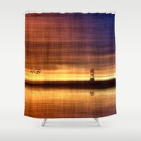 silence of the lambs Shower Curtains featuring Silence  * by Fine2art