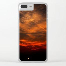 The Hidden Sun Clear iPhone Case