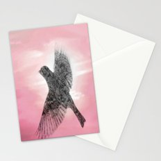 Pink And Lace Stationery Cards