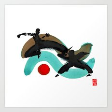 Capoeira 430 Art Print