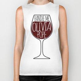 Handle Me, Olivia Pope! Biker Tank