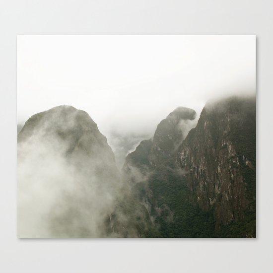 Among The Gods  Canvas Print