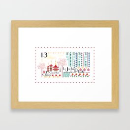 Paris _ le quartier chinois Framed Art Print