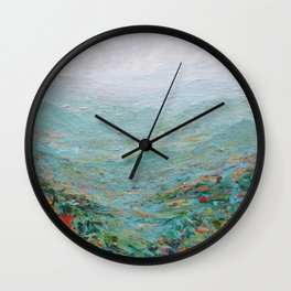 Blue Ridge October Wall Clock