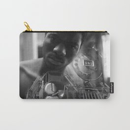 Man and the train Carry-All Pouch