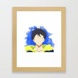 Free! Minimalist (Haru) Framed Art Print