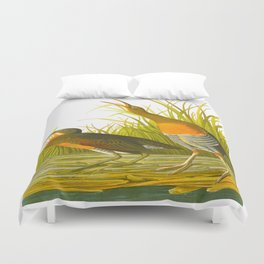 Salt Water Marsh Hen Duvet Cover