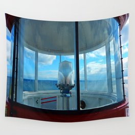 Lighthouse and Sea Beyond, seen from the Balcony Wall Tapestry