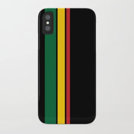 Get Up Stand Up / Rasta Vibrations iPhone Case