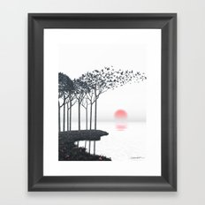 Aki Framed Art Print