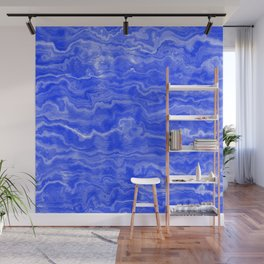 Egyptian Marble, Lapis Blue Wall Mural