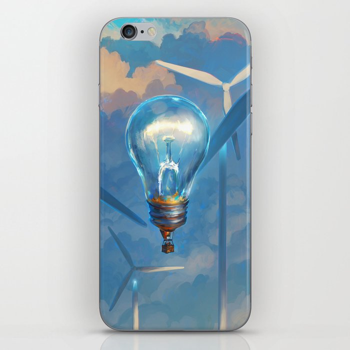 Generator of Ideas iPhone Skin by rhads