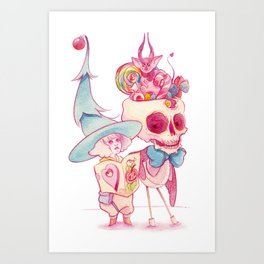 December witch Art Print