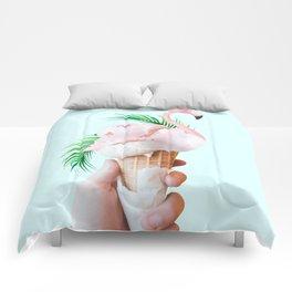 Tropical Ice Cream #society6 #decor #buyart Comforters