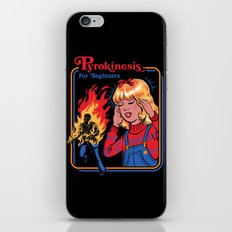 PYROKINESIS FOR BEGINNERS iPhone Skin