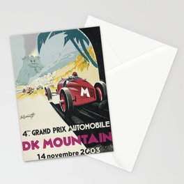 DK Mountain Grand Prix Stationery Cards