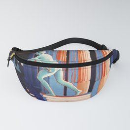 retro ENIT Pompei di Nopte old psoter Fanny Pack