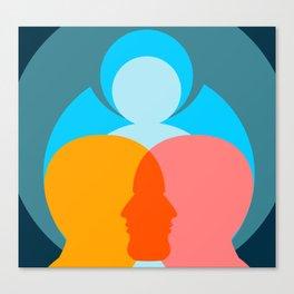 Set Your Mind Set Canvas Print