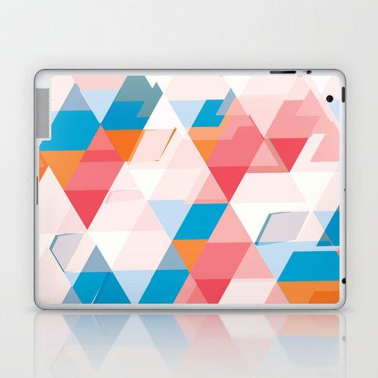 Crumbling triangles Laptop & iPad Skin