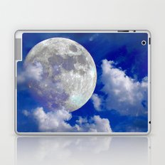 Fullmoon in clouds Laptop & iPad Skin