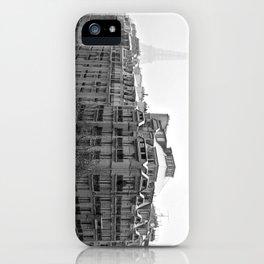 Paris Snow iPhone Case