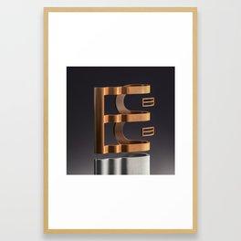 Surreal Letter B Framed Art Print