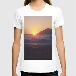 Crash into me - Romantic Sunset @ Beach #1 #art #society6 T-shirt