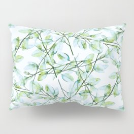 Delicate Leaves #society6 #buyart Pillow Sham
