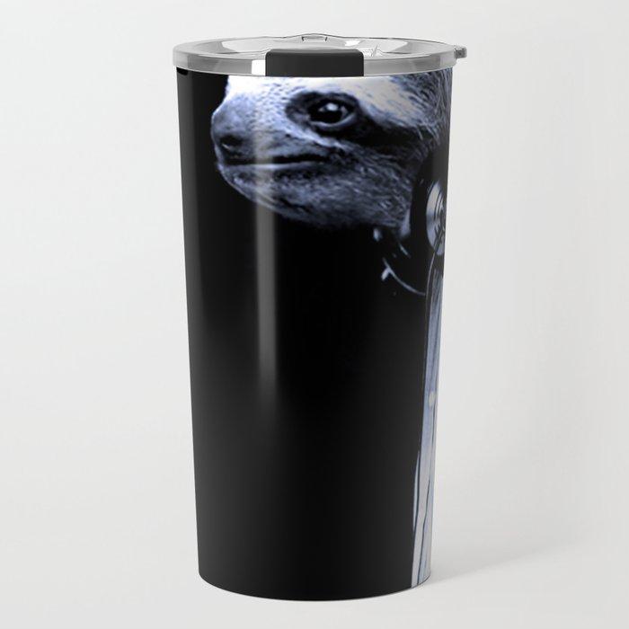 DJ Sloth Travel Mug