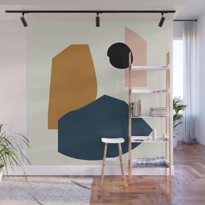 Shape study #1 - Lola Collection Wall Mural