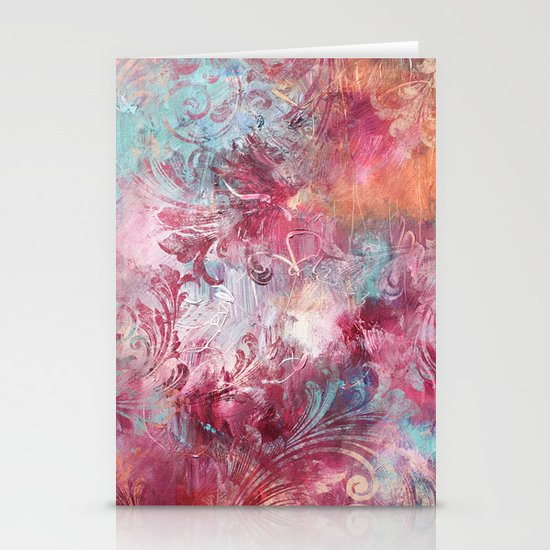 Swirl Stationery Cards