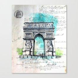 1895 Canvas Print