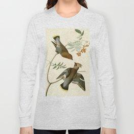 Bohemian Chatterer (Bombycilla garrulus) Long Sleeve T-shirt