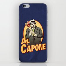 Al Capone iPhone & iPod Skin