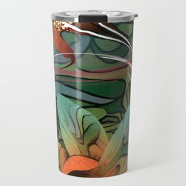 Hibiscus Green Tea Travel Mug