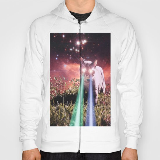Mega Space Cat Rising Hoody