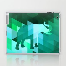 Emerald Elephant Laptop & iPad Skin