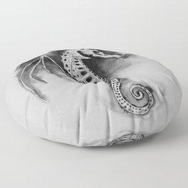 Pegasus of the Sea Floor Pillow