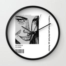 Lana :) Wall Clock