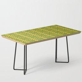 Marijuana Leaf Pattern Coffee Table
