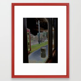 street car3 Framed Art Print