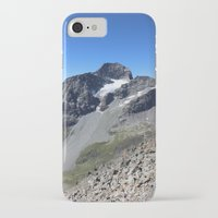 archan nair iPhone & iPod Cases featuring Piz Nair View by Helle Gade