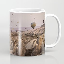 Flight above the mountains Coffee Mug